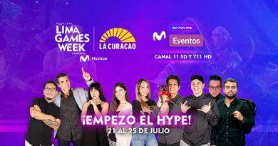 Lima Games Week 2021 unirá a toda la comunidad gamer en su tercerá edición