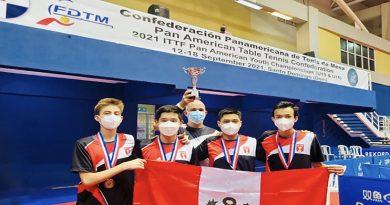 Tenis de mesa: Perú logra bronce por equipos en el campeonato  panamericano que se realiza  en República Dominicana