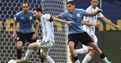 Argentina lidera el Grupo A tras derrotar a Uruguay 1-0 en la Copa América