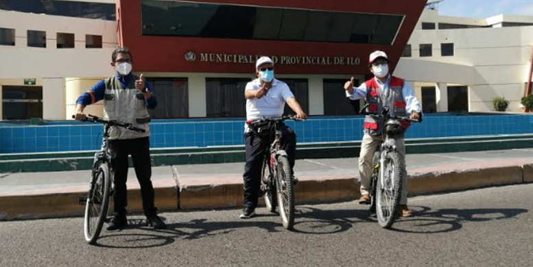 Guía de Vías Activas elaborada por el Ministerio de Vivienda es implementada en Cusco e Ilo