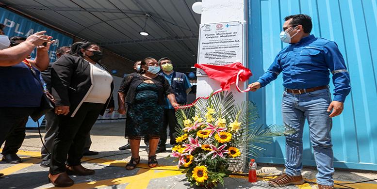 Pisco: Camisea entrega planta de oxígeno para luchar contra COVID-19
