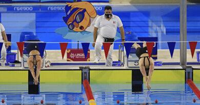 Inicia el selectivo para el campeonato sudamericano juvenil de deportes acuáticos Lima 2021